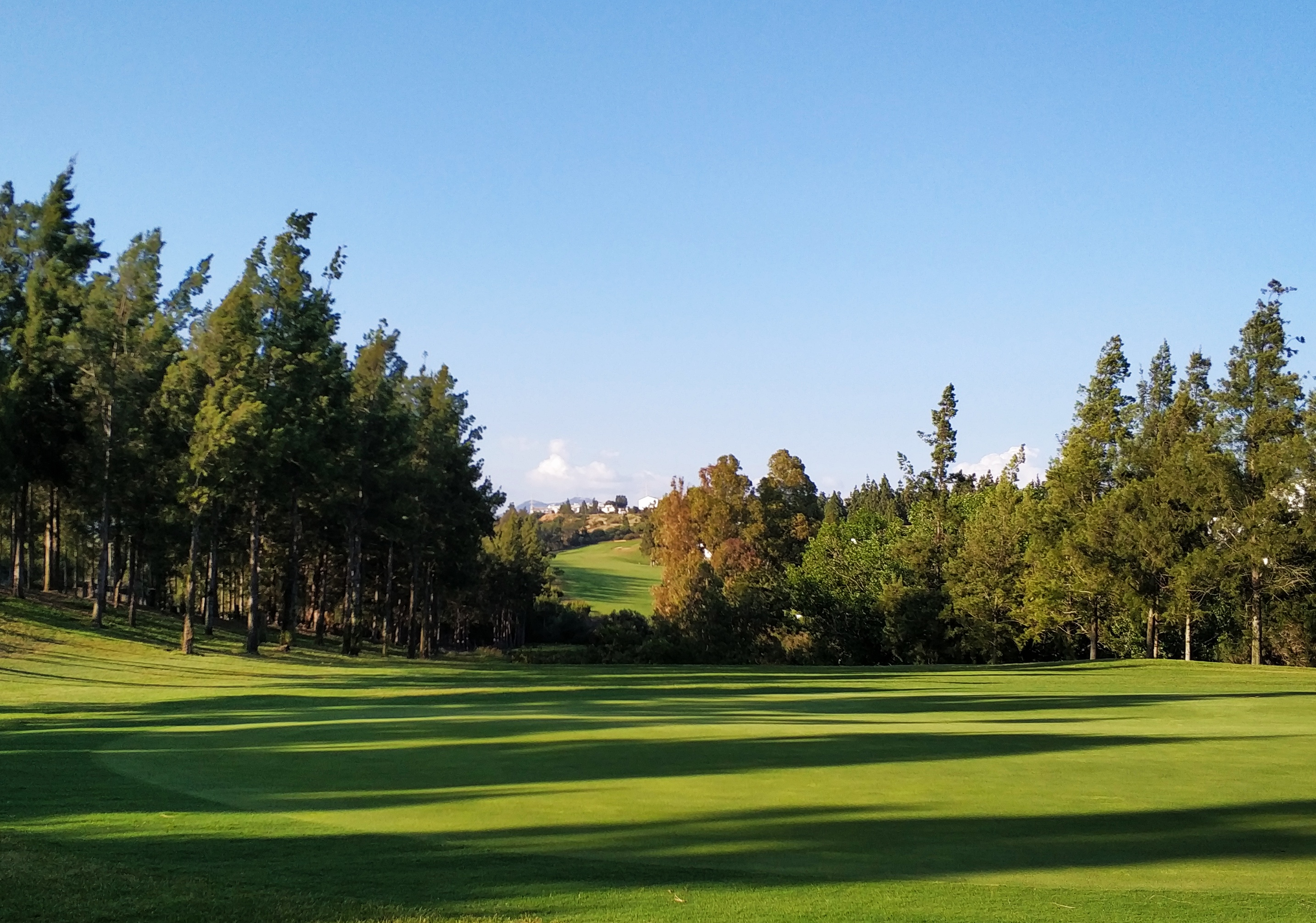 chaparral golf club hole 4 costa del sol mijas