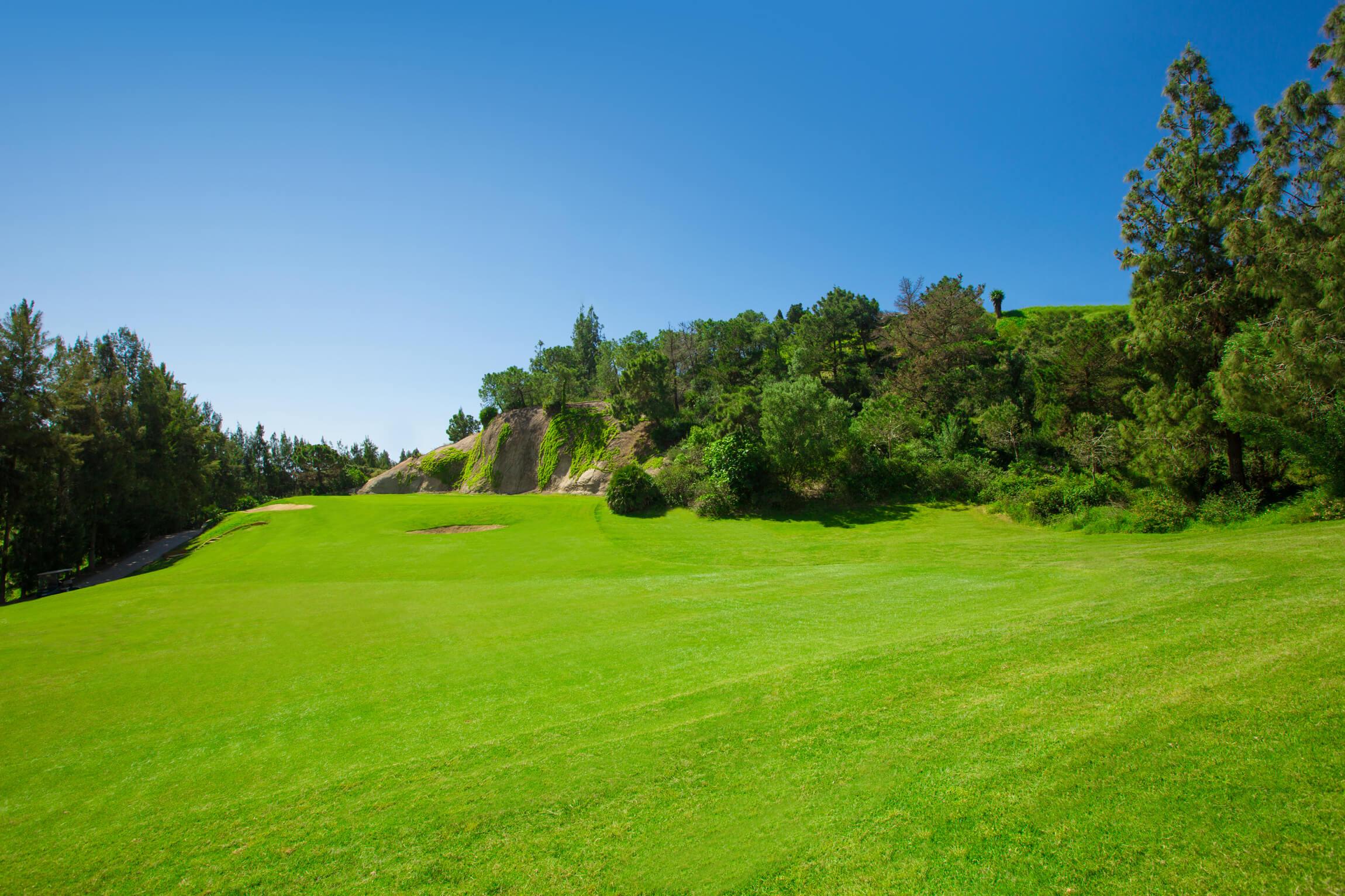 Chaparral Golf Club, Mijas, Costa del Sol, hoyo 17