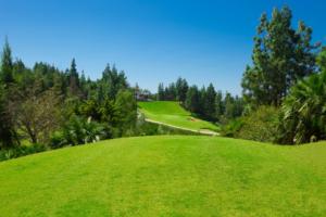 Chaparral Golf Club, Mijas, Costa del Sol, hoyo 18