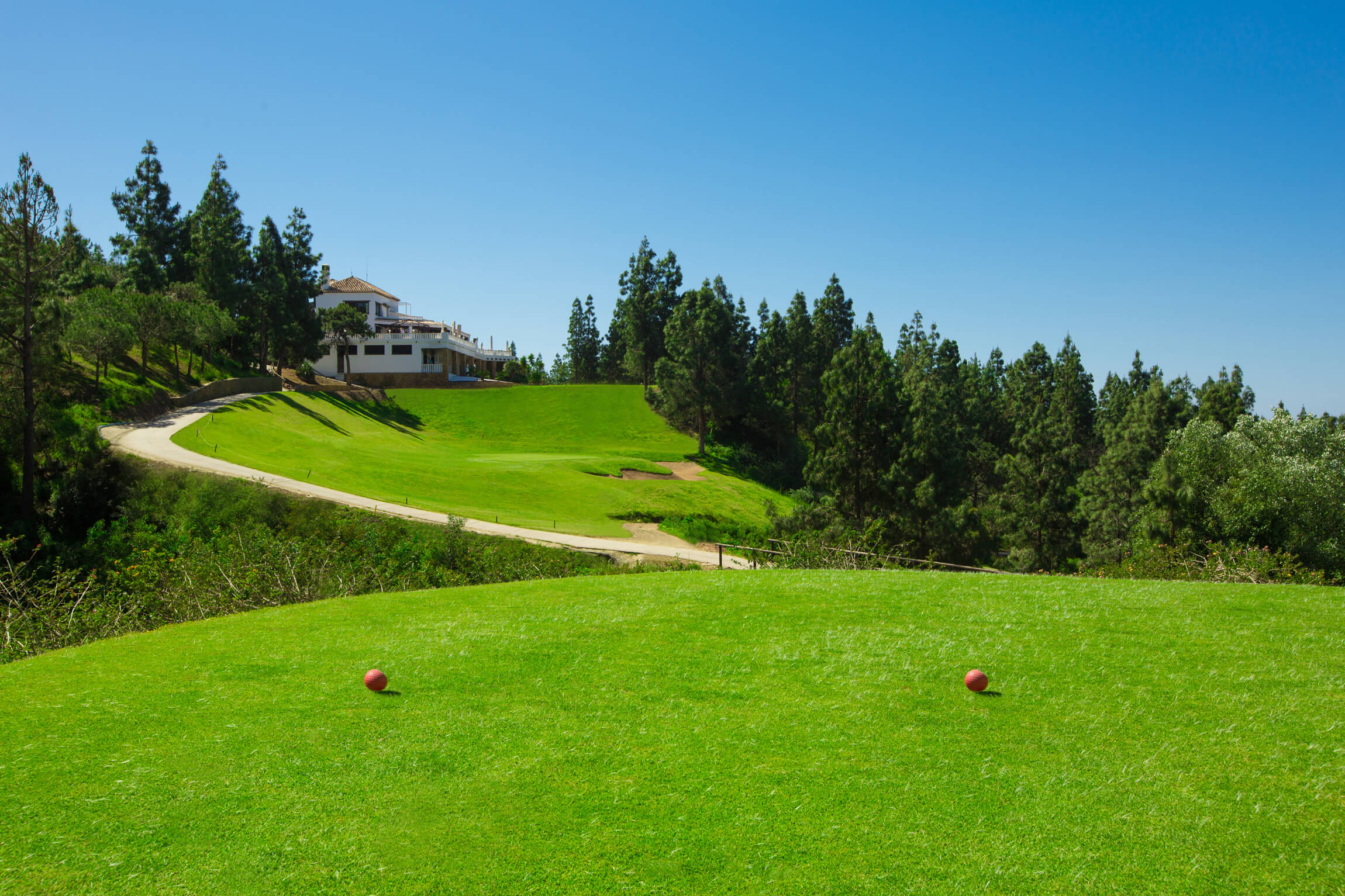 Chaparral Golf Club, Mijas, Costa del Sol, hoyo 18