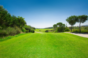 Chaparral Golf Club, Mijas, Costa del Sol, hoyo 2