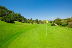 Chaparral Golf Club, Mijas, Costa del Sol, hoyo 3