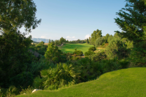Chaparral Golf Club, Mijas, Costa del Sol, hoyo 7