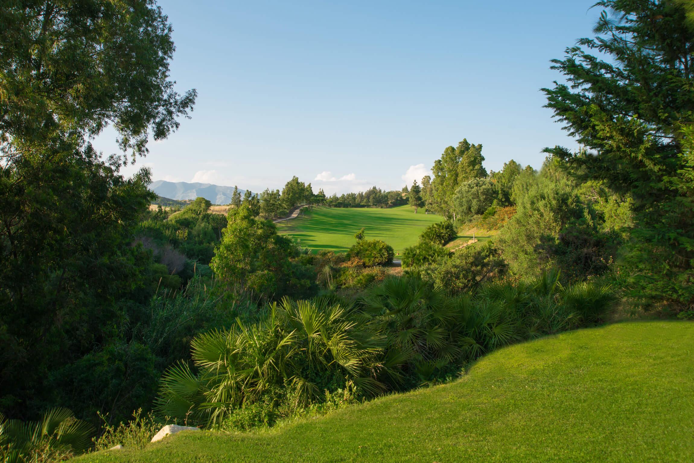 Chaparral Golf Club, Mijas, Costa del Sol, hoyo 7