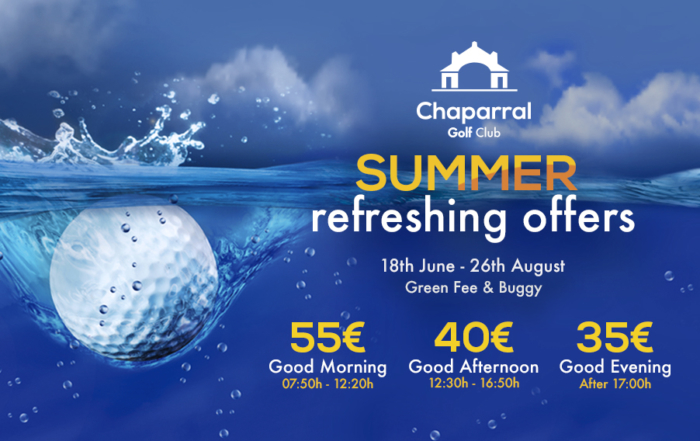 web summer offer chaparral golf club costa del sol mijas
