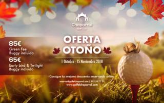 Oferta de Otoño 2018, Chaparral Golf Club, Mijas, Costa del Sol