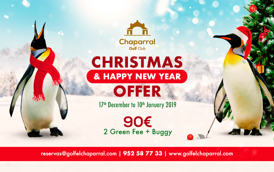 Christmas-offer-chaparral-golf-club-mijas-costa-del-sol-ingles