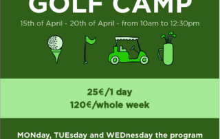 Easter Week Golf Camp 2019 Chaparral Golf Club, Mijas, Costa del sol
