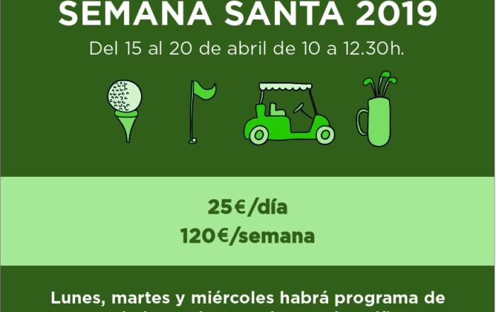 Golf Camp Semana Santa 2019 Chaparral Golf Club, Mijas, Costa del sol