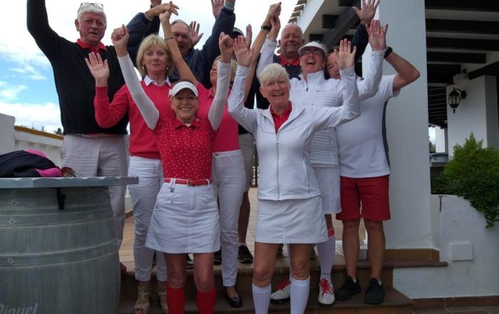 st georges day, Chaparral Golf Club, Mijas, Costa del Sol