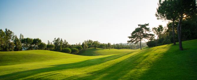 New golf season, Hole 9 Chaparral Golf Club, MIjas, Costa del Sol