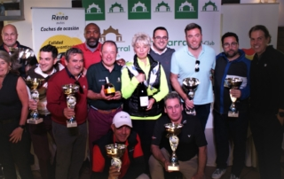 atributo alt X Tournament Fuengirola hosted in Chaparral Golf Club