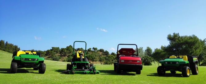 NEW MACHINERY CHAPARRAL GOLF CLUBARRAL